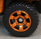 6 Spoke Utility - Bright Orange
