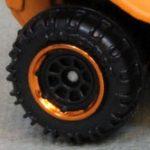 8 Spoke - Black-Bright Orange