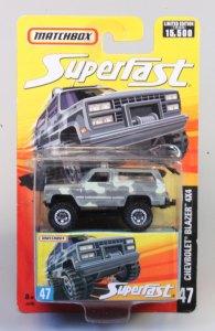Matchbox MB129-34 : 4x4 Chevrolet Blazer