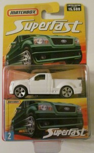 Matchbox MB663-10 : Ford F-150 SVT Lightning Pick Up