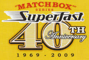 Matchbox Superfast 40th Anniversary