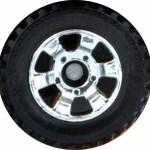 6 spoke utility - chrome