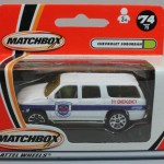 Matchbox 2001 Box