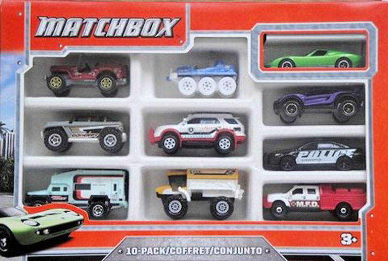 Matchbox 10 Pack -2013 #03