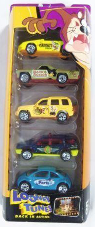 Matchbox 5 Pack : 2003 - Looney Tunes