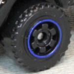 6 Spoke RInged Gear - Black-Blue