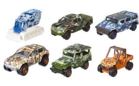 Matchbox Camouflage Series