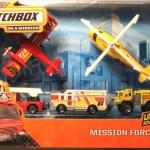 Matchbox 2014 Mission Force - Fire
