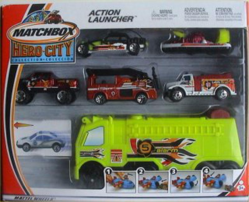 Matchbox Action Launcher – 2003