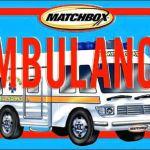 Matchbox Board Books - Ambulance