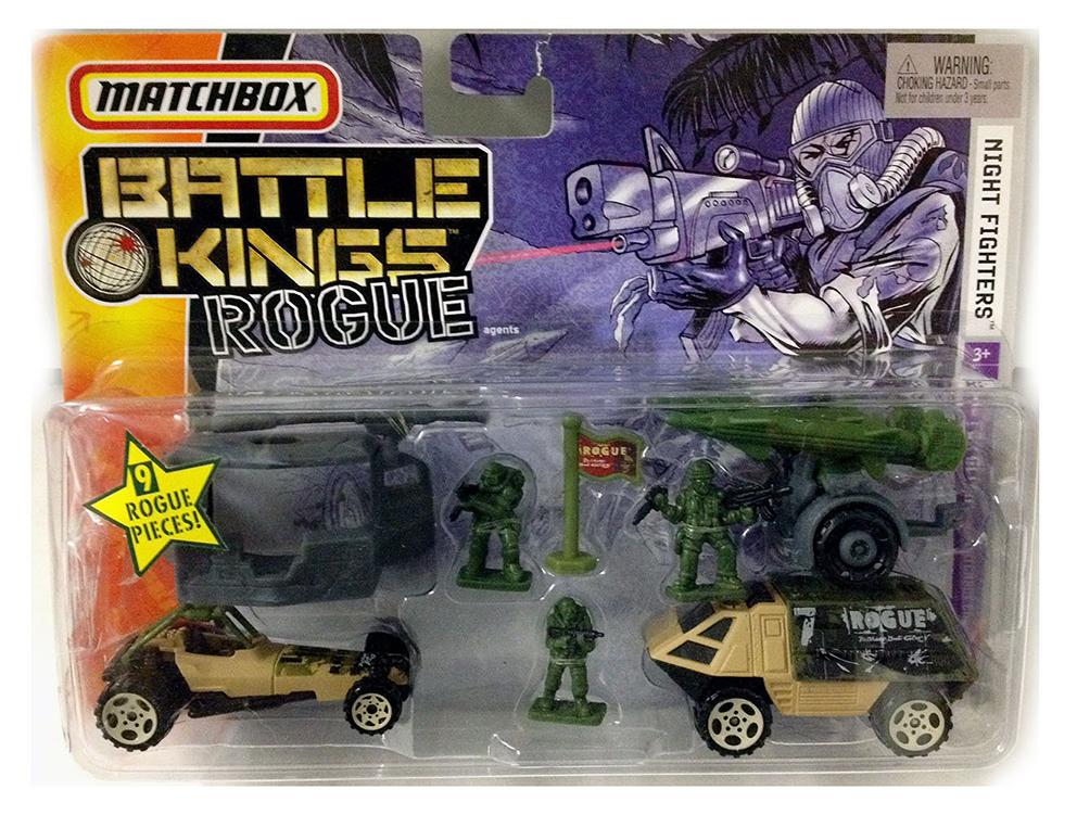 Matchbox Battle Kings Night Fighters - 2006