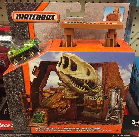 Matchbox Playset : Dino Breakout