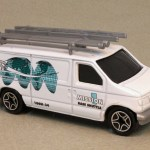 MB444-01 : Ford Panel Van (Roof Attachments/Retooled)