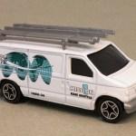 MB444-01 : Ford Panel Van (Roof Attachments/Retooled)