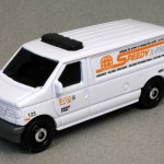 MB444-12 : Ford Panel Van (Roof Attachments/Retooled)