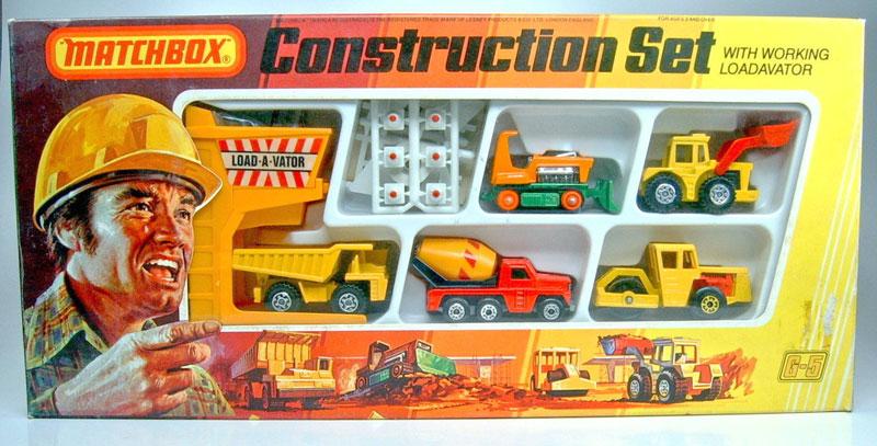 Matchbox Construction Set - 1979