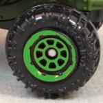 Matchbox 8 Spoke Rimmed - Green