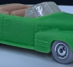 Matchbox MB1207 : '41 Cadillac Series 62 Convertible Coupe