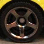Matchbox Wheels : 5 Spoke - Smoke