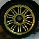 Matchbox Wheels : Double 10 Spoke - Gold