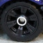 Matchbox Wheels : Double 6 Spoke - Black