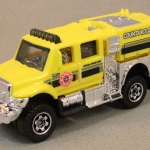 Matchbox MB939-01 : International Workstar Brush Fire Truck