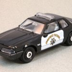 Matchbox MB969-01 : 1992 Ford Mustang Police car
