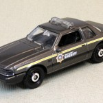 Matchbox MB969-04 : 1993 Ford Mustang Police car