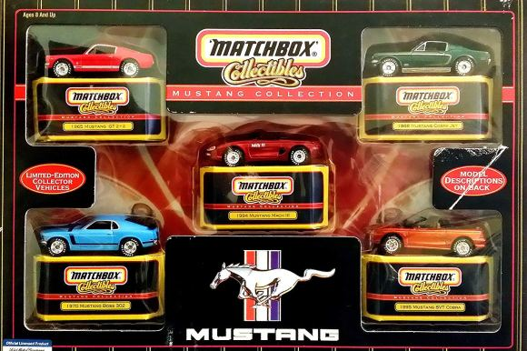 Matchbox Collectibles Mustang Collection 35259