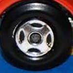 Matchbox Wheels : 4 Spoke