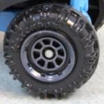 Matchbox Wheels : 8 Spoke Rimmed - Grey
