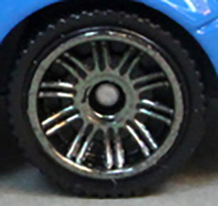 Matchbox Wheels : Double 10 Spoke Smoke