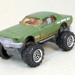 "Matchbox MB1009-01 : Custom '68 Mustang ""Mudstanger"""