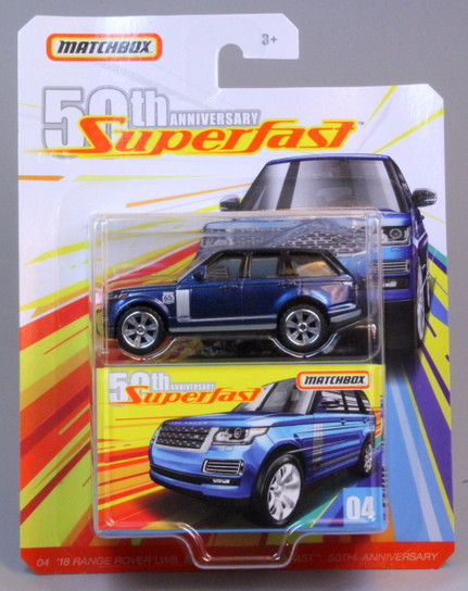 Matchbox MB1163-01 : ´18 Range Rover Vogue SE