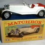 Matchbox Models of Yesteryear Y10-2-05 1928 Mercedes Benz 36-220