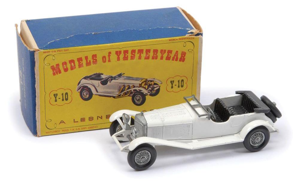 Matchbox Models of Yesteryear Y10-2 1928 Mercedes Benz 36-220