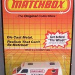 Matchbox 1983 Blister