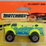 Matchbox 1995 Short Card