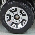 Matchbox Wheels : 5 Dot Crown - Chrome