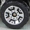 Matchbox Wheels : 5 Dot Crown - Chrome