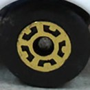 Matchbox Wheels : 5 Crown - Gold