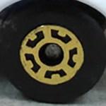 Matchbox Wheels : 5 Crown - Gold