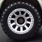 Matchbox Wheels : 10 Spoke Riveted - Chrome