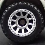 Matchbox Wheels : 10 Spoke Riveted - Chrome