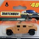 Matchbox 1998 Short Card