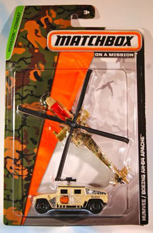 Matchbox Mission : Combat - 2014 Twin Pack