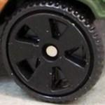 Matchbox Wheels : 5 Spoke Superfast - Black