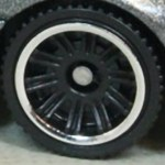 Matchbox Wheels : Double 10 Spoke - Black/Chrome