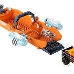 Matchbox Elite Rescue Turbo Canoe Playset