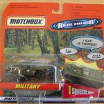 Matchbox 1998 Real Talkin - Military